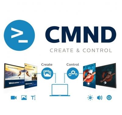 Philips CMND - Verwaltung Ihrer Hotel TV Geräte