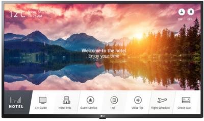 LG Electronics Smart 4K UHD Hotel-TV 55US662H