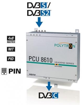 Kopfstation Polytron PCU 8610