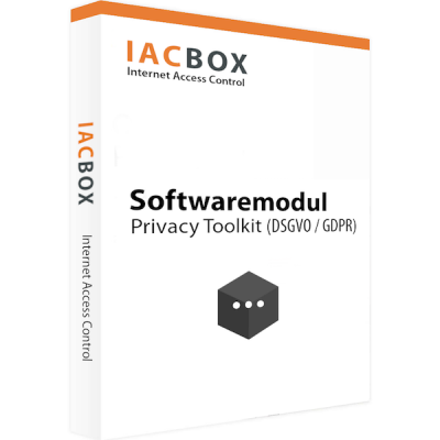 IACBOX Software Modul | Privacy Toolkit